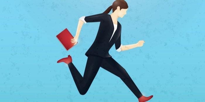 Empresaria proactiva
