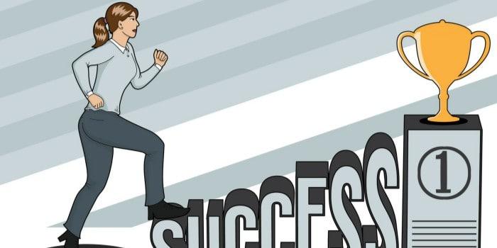 Empresaria buscado el éxito
