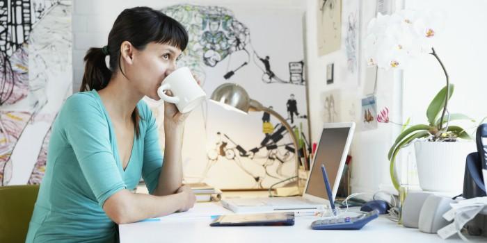 Trabajas desde casa como emprendedora