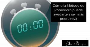 Cómo la Método de Pomodoro puede ayudarte a ser más productiva